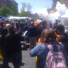 Photo taken at Hoboken Music And Arts Festival by 98 on 5/5/2013