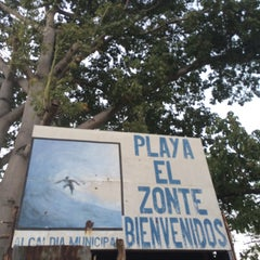 Photo taken at Playa El Zonte by CeSaints on 2/21/2015