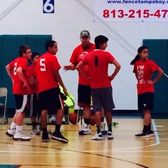 Photo taken at Land O' Lakes Recreation Center by Stephanie V. on 3/1/2014