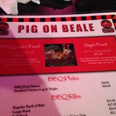 Photo taken at Pig On Beale by Casey B. on 12/26/2012