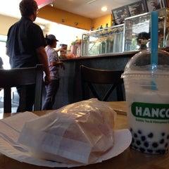 Photo taken at Hanco's Bubble Tea & Vietnamese Sandwich by Greg P. on 9/5/2014