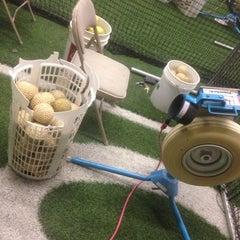 Photo taken at Bud Maddux Baseball Academy by Jonny R. on 5/26/2014