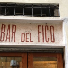 Photo taken at Bar del Fico by Stefano M. on 1/2/2013