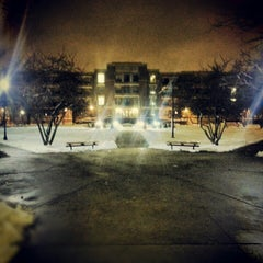 Photo taken at DePaul University Quad by Giovanni A. on 2/6/2013