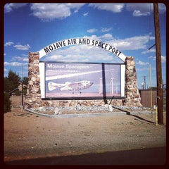 Photo taken at Mojave Air and Space Port by Jeff J. on 5/11/2013