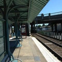 Photo taken at TriMet NE 60th Ave MAX Station by LLCoolShaun on 7/26/2013