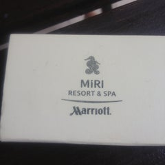 Photo taken at Miri Marriott Resort & Spa by tml 2. on 12/4/2012