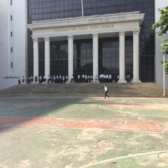 Photo taken at Coronation Hall (C Building) by Tookta T. on 8/19/2014