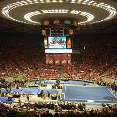 Photo taken at Jon M. Huntsman Center by Kayla W. on 1/20/2013