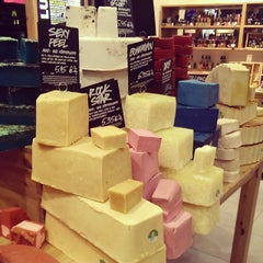 Photo taken at LUSH by Moe on 2/3/2014