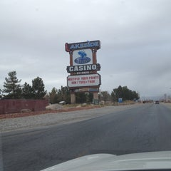 Photo taken at Terrible's Lakeside Casino and RV Resort by Suzanne H. on 1/31/2014