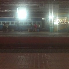 Photo taken at Thrissur Railway Station by Hiran S. on 3/3/2013