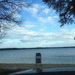 Photo taken at Wequaquet Lake by Susan H. on 3/18/2013