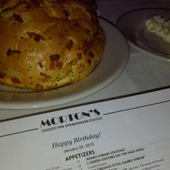 Photo taken at Morton's the Steakhouse by Cecil T. on 1/30/2013