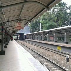 Photo taken at Stasiun Sudirman by Alexander Y. on 3/9/2013