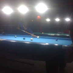 Photo taken at Gaol Billiard Pool & Lounge by Vano G. on 3/18/2013