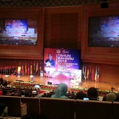 Photo taken at Putrajaya International Convention Centre (PICC) by Watereye 3. on 1/29/2013