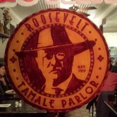 Photo taken at Roosevelt Tamale Parlor by Benjamin R. on 11/18/2013