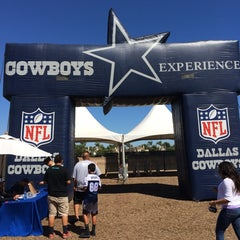 Photo taken at Dallas Cowboys Training Camp by Ryland H. on 8/5/2014
