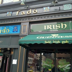 Photo taken at Fadó Irish Pub & Restaurant by David S. on 3/16/2013