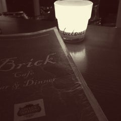 Photo taken at Brick Cafe by Mihail on 2/20/2015