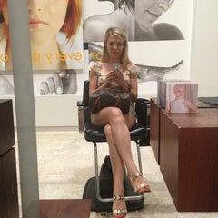 Photo taken at Mario Tricoci Hair Salon & Day Spa by Yuliya Y. on 8/24/2013
