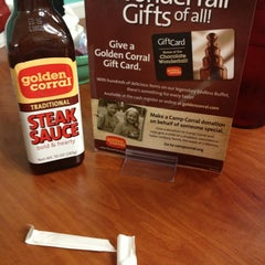 Photo taken at Golden Corral by Nia O. on 1/23/2013