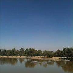 "Photo taken at Parque Ecológico ""Lago De Lirios"" by Victor C. on 2/1/2013"