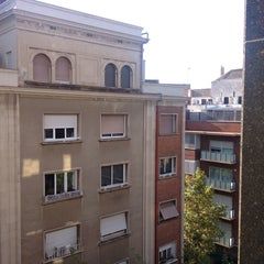 Photo taken at Hotel Derby Barcelona by Мистер Р. on 8/27/2014