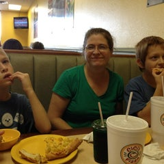 Photo taken at Cicis by John H. on 10/19/2013