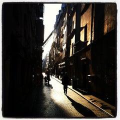 Photo taken at Rue Saint-Sauveur by Lomig U. on 3/20/2012