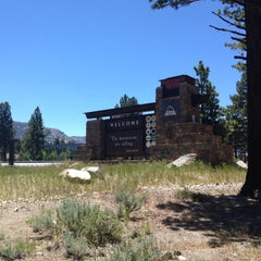 Photo taken at California Welcome Center, Mammoth Lakes by Katina Mae on 6/14/2015