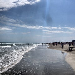 Photo taken at Cocoa Beach by Roshan J. on 3/22/2013