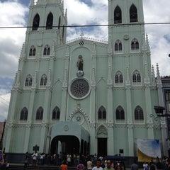 Photo taken at Minor Basilica of San Sebastian (Shrine of Our Lady Of Mount Carmel) by Tintin B. on 3/29/2013