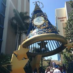 Photo taken at Disneyland Hotel by Robert C. on 3/30/2013