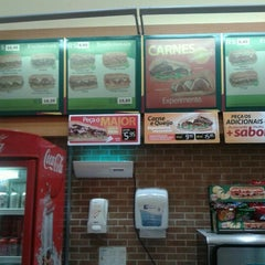 Photo taken at Subway by Estela M. on 3/19/2013