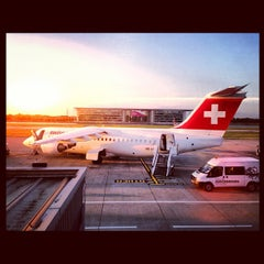 Photo taken at Zürich Airport (ZRH) by Pascal C. on 8/26/2013