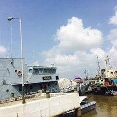 Photo taken at กองบังคับการตำรวจน้ำ (Marine Police Division) by ninosung on 5/1/2014