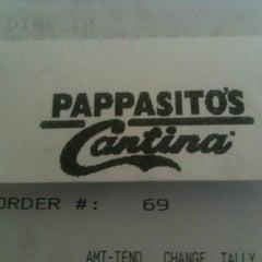 Photo taken at Pappasito's Cantina by Teresa on 10/15/2012