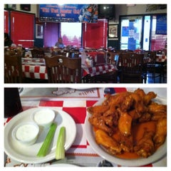 Photo taken at Pullanos Pizza & Wings by Crystal on 1/26/2013