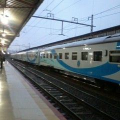 Photo taken at Stasiun Pasar Senen by dEricT M. on 11/22/2012