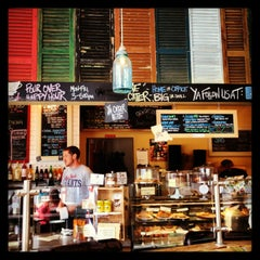 Photo taken at Bayou Bakery by Cécile R. on 9/15/2013