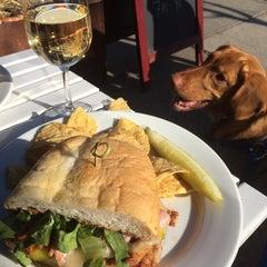 Photo taken at Gigi's Cafe by Michael Corbett S. on 4/6/2014