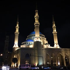 Photo taken at Mohammed Al-Amin Mosque by Halil K. on 5/1/2015