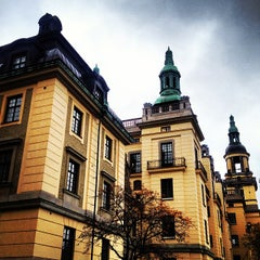 Photo taken at Polishuset by StockholmOurWay on 11/4/2013