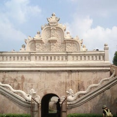 Photo taken at Taman Sari Water Castle by Khusnul P. on 5/11/2013