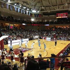 Photo taken at TD Arena, College of Charleston by Hannah S. on 1/25/2013