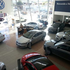 Photo taken at Volkswagen Potosina by Thomas A. on 1/27/2014