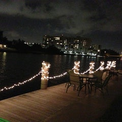 Photo taken at Intracoastal Waterway by Bobby M. on 1/5/2013