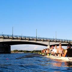 Photo taken at John Philip Sousa Bridge by Douglas R. on 1/7/2013